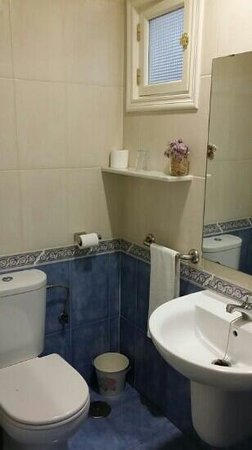 Le petit Paris: bathroom