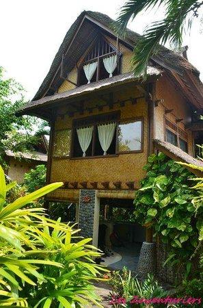 Pondok Pisces Bungalows: notre bungalow dans la jungle balinaise