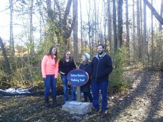 Thompson Community Center: Delno Brown Walking Trail