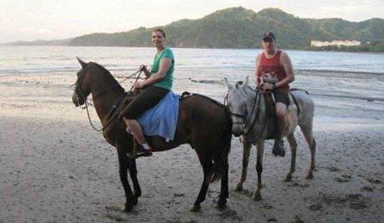 Hotel Riu Palace Costa Rica: Ferrari and Tequila were great horses!
