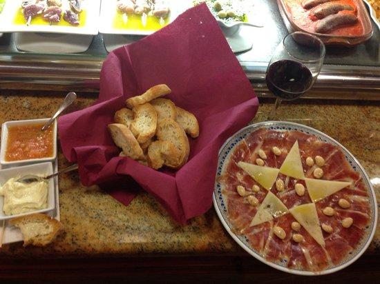 Tasca Nueva Bahía: Fantástica presentación y sabor !!