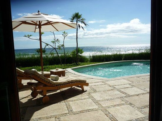 Mukul Beach Golf & Spa: Private pool