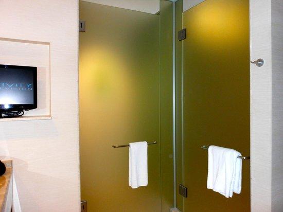 The Ritz-Carlton, Dove Mountain: Bathroom toilet L, shower R