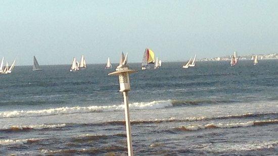 Sunstays Lagoon Beach Apartments: Sunset regatta - from apartment