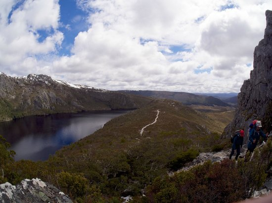 Cradle Mountain Huts: Walk to  Marion's Lookout