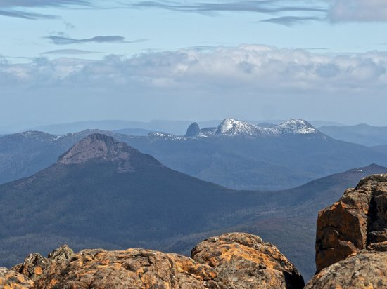 Cradle Mountain Huts: View from Mt Ossa
