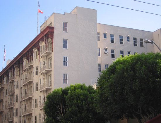 Handlery Union Square Hotel: Hotel Exterior