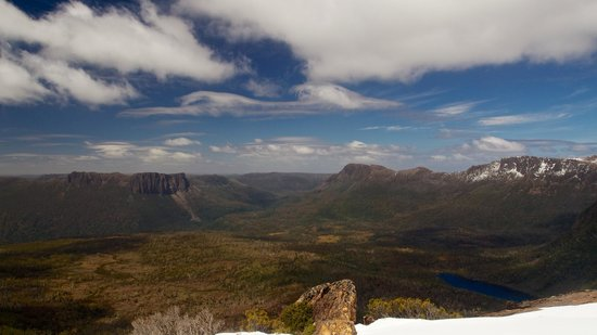 Cradle Mountain Huts: From Mt Ossa
