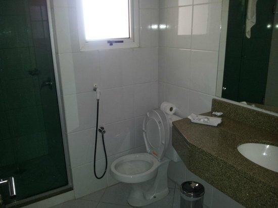 Everest Porto Alegre Hotel: banheiro