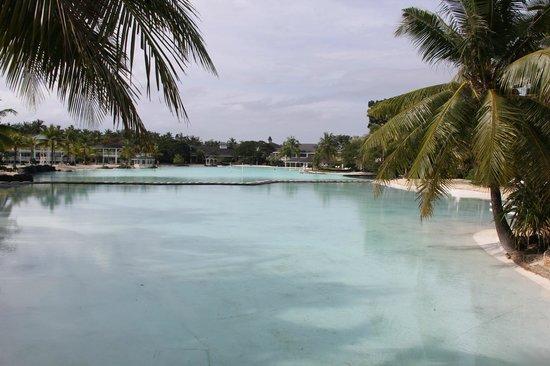 Plantation Bay Resort And Spa: Lagoon view