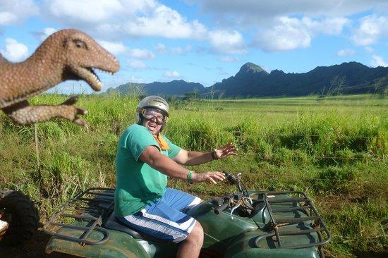 Kauai ATV Tours: Ride through Jurassic Park, but watch out for dinosaurs.