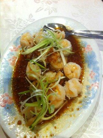 Golden Harbour Restaurant: Steamed Harbour Prawns with garlic