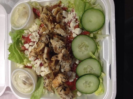 Sarah's Kabob Shop : Grilled chicken salad