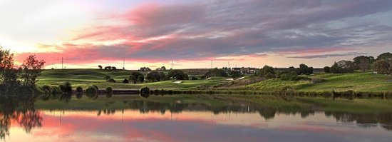 The Links Shell Cove Golf Course: View of creek on the 4th Hole