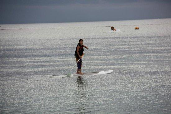 Sugar Beach Golf & Spa Resort: play on neerly sea
