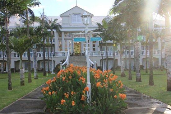 Sugar Beach Golf & Spa Resort: house from sea