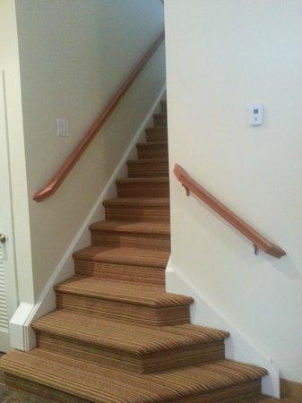 Residence Inn Harrisburg Hershey: loft stairs