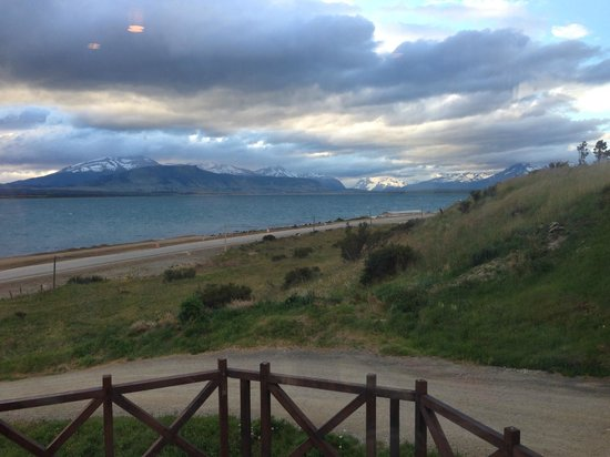 Weskar Patagonian Lodge : View from tables at Weskar