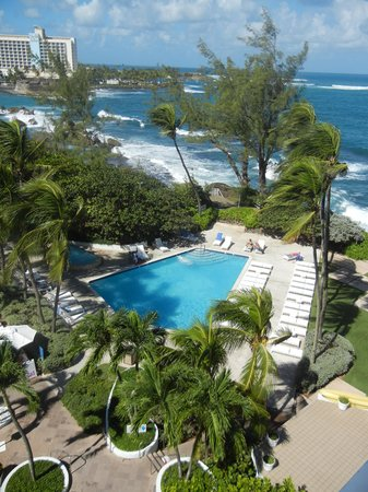 The Condado Plaza Hilton : The view from my balcony.
