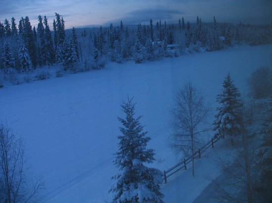 Fairbanks Princess Riverside Lodge: View from room1