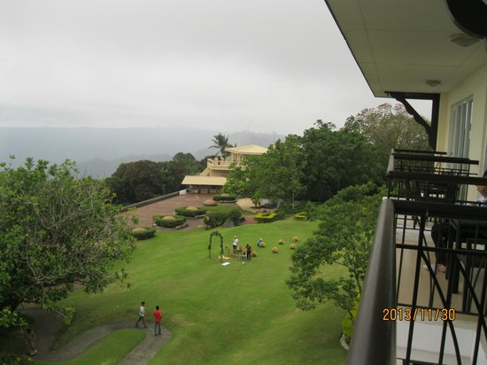 Taal Vista Hotel: The view from our room