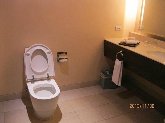 Taal Vista Hotel: Our Bathroom