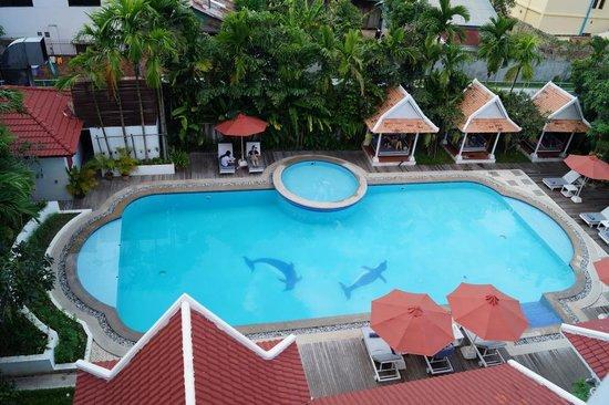 Memoire d' Angkor Boutique Hotel : Pool