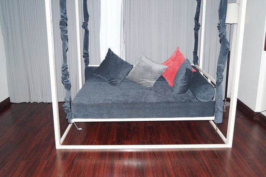 Memoire d' Angkor Boutique Hotel : Swinging chair