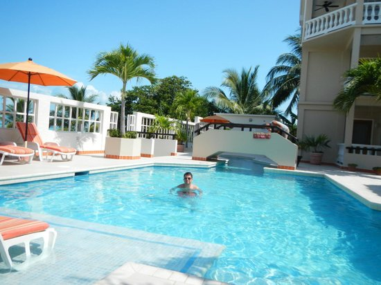 Iguana Reef Inn: Pool