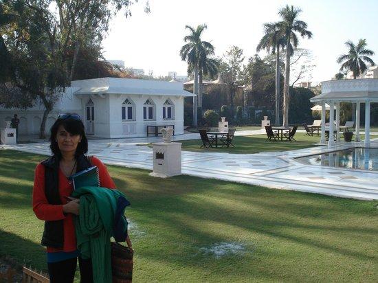 The Gateway Hotel, Agra: YO CON ESE FONDO BELLISIMO