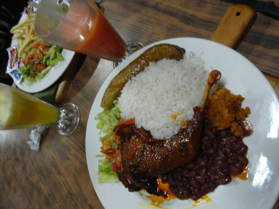 Sabor Tico: The rice was the only thing worth eating