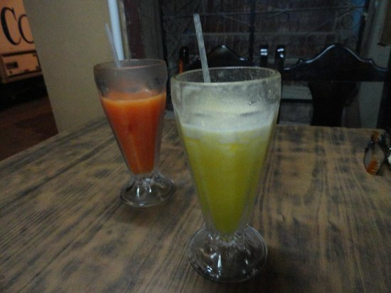 Sabor Tico: Juice was good but how can you mess that up?