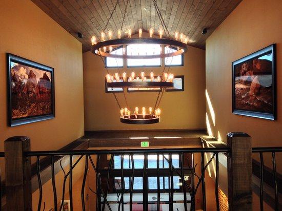 Hampton Inn & Suites Springdale Zion National Park: Upstairs