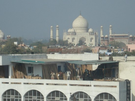 The Gateway Hotel, Agra: VISTA ESPECTACULAR DEL TAJ MAHAL