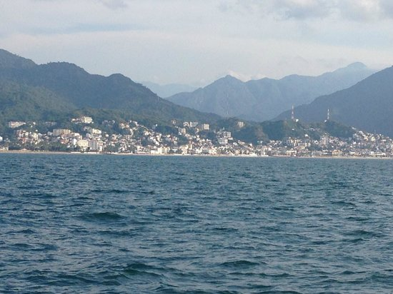 Bay of Banderas: A great view of Puerto Vallarta and its famous malecon