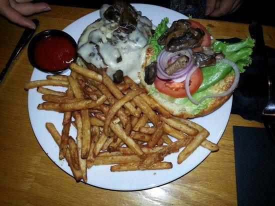 Westmark Sitka : Mushroom Swiss Hamburger