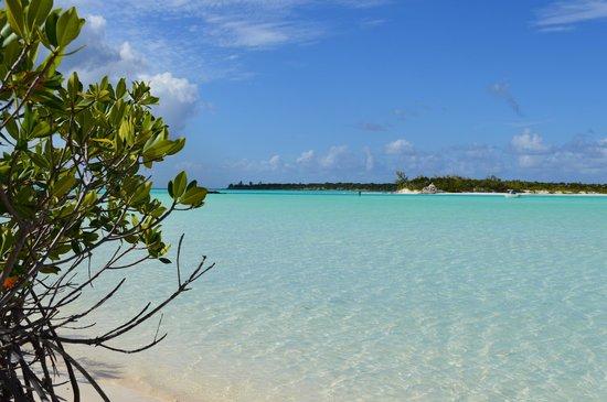 Cape Santa Maria Beach Resort & Villas: Lagoon looking North