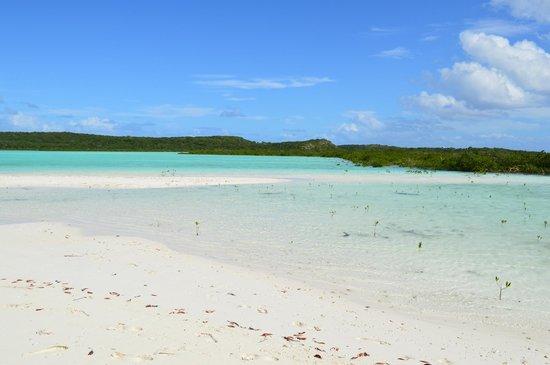 Cape Santa Maria Beach Resort & Villas: Lagoon looking East