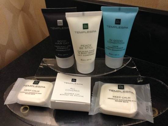 Crowne Plaza St Louis Airport: Toiletries