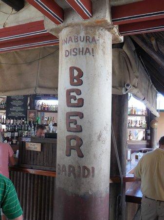 Dawa Bar - Outdoor bar at Tusker House