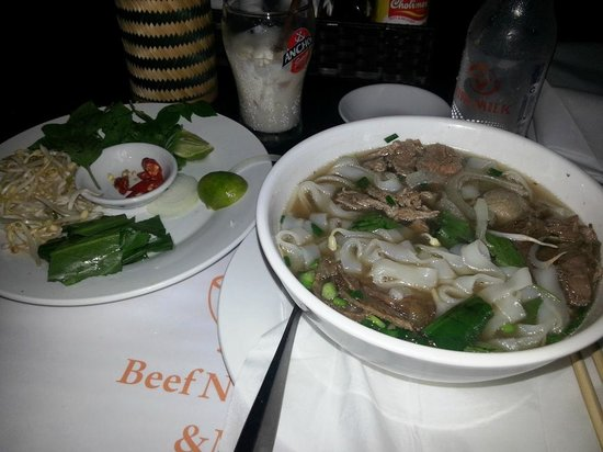 Lucky Pho: My meal