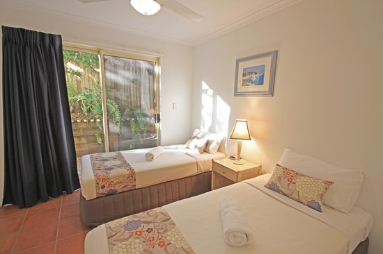 Coolum Beach Getaway Resort: 2 Bedroom Twin Room