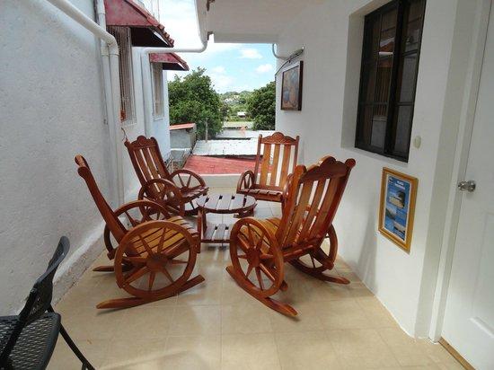 Hotel Posada Bahia Azul: Area recreativa