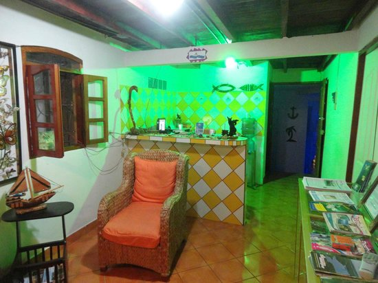 Hotel Posada Bahia Azul: Reception
