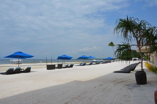 The Bellevue Resort Bohol : Lovely view by the beach