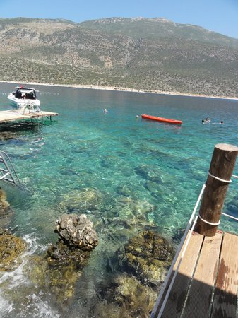Hotel Club Barbarossa: Stunning water