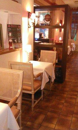 Restaurant Les trois Lys : notre table réservée tous les soirs