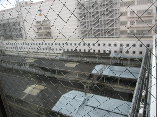 JR Kyushu Hotel Kagoshima : 部屋より。