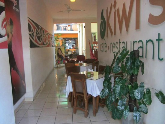 Kiwi's Café restaurant: Entrada