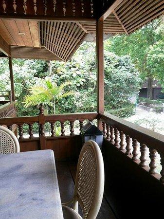 Pulau Bidadari Resort: balcony